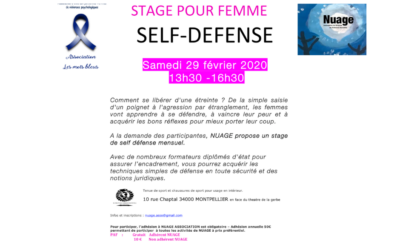 Stage pour femme – Self Défense
