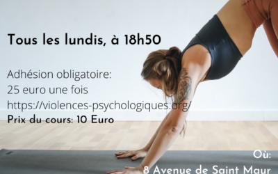 Cours de Yoga Hatha